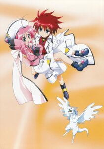 Rating: Safe Score: 7 Tags: caro_ru_lushe erio_mondial friedrich mahou_shoujo_lyrical_nanoha mahou_shoujo_lyrical_nanoha_strikers User: daemonaf2