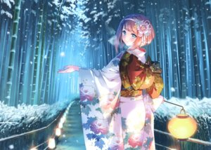 Rating: Questionable Score: 50 Tags: ark_royal_(kancolle) carnelian kantai_collection kimono User: Radioactive