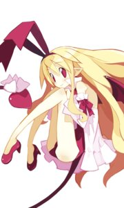 Rating: Safe Score: 36 Tags: disgaea duplicate flonne harada_takehito heels leotard pointy_ears tail wings User: Radioactive