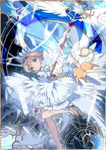 Rating: Safe Score: 14 Tags: card_captor_sakura dress edoya_inuhachi heels kerberos kinomoto_sakura weapon wings User: Mr_GT