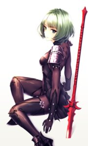 Rating: Questionable Score: 49 Tags: bodysuit cosplay erect_nipples fate/grand_order heels heterochromia infinote scathach_(fate/grand_order) takagaki_kaede the_idolm@ster the_idolm@ster_cinderella_girls weapon User: mash