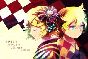 Rating: Safe Score: 3 Tags: kagamine_len kagamine_rin sachirika vocaloid User: charunetra