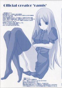 Rating: Questionable Score: 6 Tags: 3days lass monochrome pantsu ramis thighhighs User: admin2