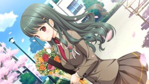 Rating: Safe Score: 27 Tags: game_cg hatsukoi_sacrament mikazukimo purple_software sakaehara_kyouka satsuki_toto seifuku User: blooregardo