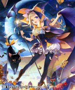 Rating: Safe Score: 66 Tags: halloween neko pantyhose salty shingeki_no_bahamut witch User: blooregardo