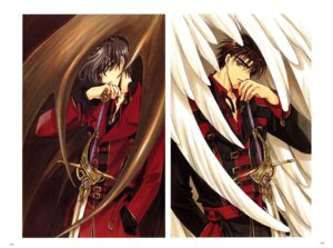 Rating: Safe Score: 4 Tags: clamp gap male monou_fuuma shirou_kamui x User: Share