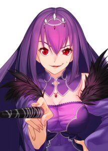 Rating: Safe Score: 11 Tags: akisa_(12023648) cleavage dress fate/grand_order scathach_skadi weapon User: charunetra