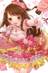 Rating: Safe Score: 34 Tags: cleavage dress jimmy shimamura_uzuki the_idolm@ster the_idolm@ster_cinderella_girls User: Mr_GT