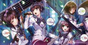 Rating: Safe Score: 54 Tags: guitar himekawa_tokino hyoudou_michiru misaki_kurehito mizuhara_echika morioka_ranko saenai_heroine_no_sodatekata seifuku User: ted423