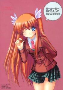 Rating: Safe Score: 15 Tags: hinoue_itaru ootori_chihaya rewrite seifuku User: SubaruSumeragi