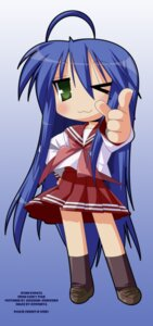 Rating: Safe Score: 8 Tags: izumi_konata lucky_star seifuku vector_trace watermark User: Radioactive