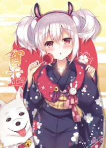 Rating: Safe Score: 43 Tags: animal_ears azur_lane bunny_ears kimono laffey_(azur_lane) suzunone_rena User: Mr_GT