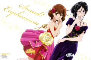 Rating: Safe Score: 66 Tags: cleavage dress hibike!_euphonium ikeda_shouko megane oumae_kumiko tanaka_asuka User: drop