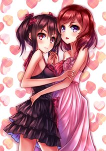 Rating: Safe Score: 41 Tags: dress jin_(gold) love_live! nishikino_maki yazawa_nico User: Mr_GT