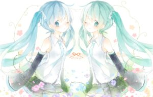 Rating: Safe Score: 14 Tags: hatsune_miku mikanniro vocaloid User: fireattack