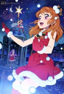 Rating: Safe Score: 19 Tags: aikatsu! autographed christmas dress heels hoshimiya_ichigo kanzaki_mizuki oozora_akari pantyhose thighhighs watanabe_satomi User: drop