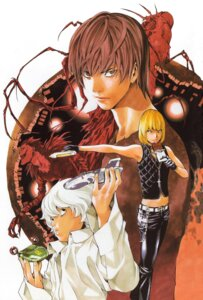 Rating: Safe Score: 3 Tags: death_note male mello near obata_takeshi ryuk yagami_light User: Radioactive