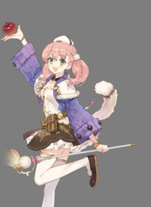 Rating: Safe Score: 10 Tags: animal_ears atelier atelier_nelke escha_malier noco tail thighhighs transparent_png weapon User: lounger