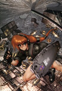 Rating: Safe Score: 4 Tags: gun shirow_masamune User: Wraith