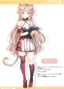 Rating: Questionable Score: 56 Tags: animal_ears momoko_(momopoco) sashimi_necoya tagme tail User: kiyoe