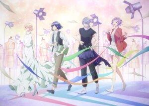 Rating: Safe Score: 7 Tags: ayano_too dress fujito_chiyuki hasegawa_kokoro heels runway_de_waratte tagme tsumura_ikuto User: blooregardo