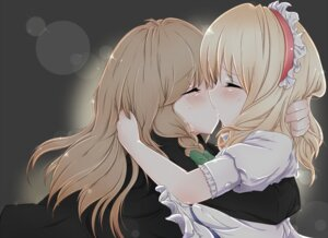 Rating: Safe Score: 47 Tags: alice_margatroid gumiaruyo kirisame_marisa touhou yuri User: petopeto
