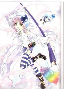 Rating: Safe Score: 3 Tags: amulet_spade binding_discoloration hinamori_amu miki peach-pit shugo_chara thighhighs User: noirblack