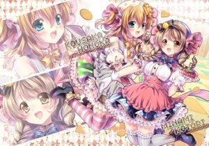Rating: Safe Score: 25 Tags: dress heels kousaka_honoka love_live! minami_kotori sakurano_ruu thighhighs User: fairyren