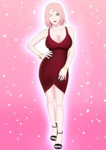 Rating: Questionable Score: 8 Tags: dress goddess_sakura haruno_sakura naruto no_bra User: popcorn1239