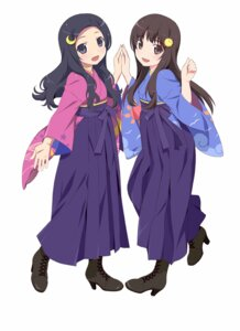 Rating: Safe Score: 49 Tags: alice_(claris) clara claris japanese_clothes watanabe_akio User: fireattack