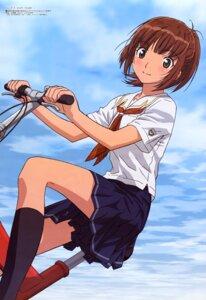 Rating: Safe Score: 9 Tags: kawada_tsuyoshi kimikiss kimikiss_pure_rouge sakino_asuka seifuku User: Radioactive