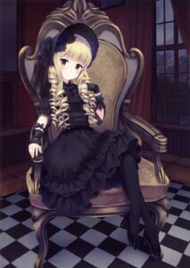Rating: Safe Score: 87 Tags: alc dress gothic_lolita heels lolita_fashion User: Twinsenzw