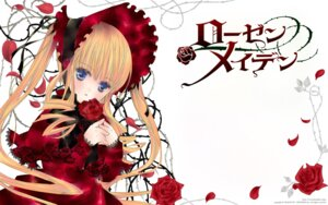Rating: Safe Score: 14 Tags: dress lolita_fashion peach-pit rozen_maiden shinku wallpaper User: Radioactive