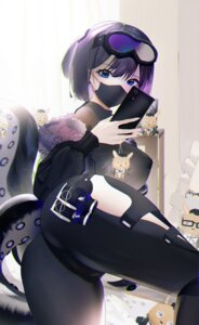 Rating: Questionable Score: 23 Tags: andreana_(arknights) arknights ass bodysuit omone_hokoma_agm selfie tentacles User: BattlequeenYume