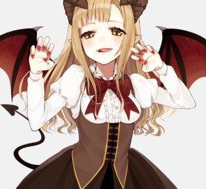 Rating: Safe Score: 27 Tags: chisumi horns pointy_ears tail wings User: nphuongsun93