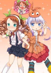 Rating: Safe Score: 15 Tags: bakemonogatari cosplay hachikuji_mayoi kanna_kamui kobayashi-san_chi_no_maid_dragon miyabeeya ononoki_yotsugi saikawa_riko User: Mr_GT