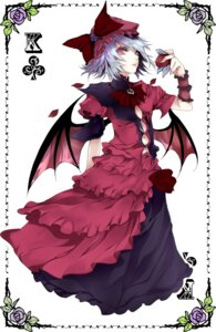 Rating: Safe Score: 21 Tags: atoshi dress remilia_scarlet touhou wings User: fairyren