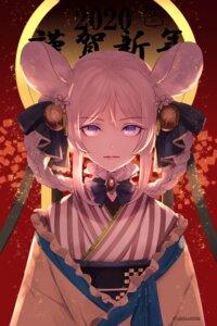 Rating: Safe Score: 17 Tags: animal_ears japanese_clothes yuuki_kira User: Mr_GT