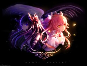 Rating: Safe Score: 28 Tags: akemi_homura cleavage puella_magi_madoka_magica ultimate_madoka un_s User: Mr_GT