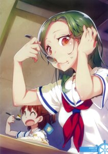 Rating: Safe Score: 40 Tags: high_school_fleet nilitsu ogasawara_hikari seifuku takeda_michiru User: Radioactive
