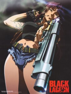 Rating: Safe Score: 30 Tags: black_lagoon gun shino_masanori smoking tattoo User: Velociraptor