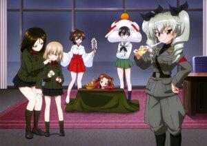 Rating: Safe Score: 20 Tags: anchovy girls_und_panzer kadotani_anzu katyusha kawashima_momo koyama_yuzu megane miko nonna seifuku uniform User: drop