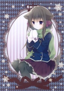 Rating: Questionable Score: 19 Tags: animal_ears inugami_kira necotoxin pantyhose tail User: Radioactive