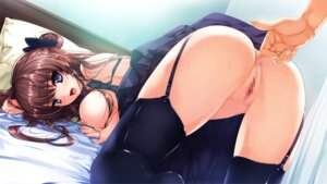 Rating: Explicit Score: 236 Tags: anal ass breasts censored fingering game_cg hanamiya_nagisa kuroya_shinobu nipples no_bra pussy pussy_juice stockings thighhighs trumple ushinawareta_mirai_wo_motomete User: blooregardo