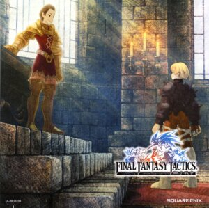 Rating: Safe Score: 3 Tags: delita_heiral disc_cover final_fantasy final_fantasy_tactics ramza_beoulve User: Radioactive