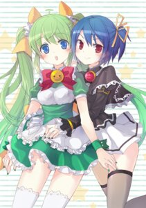 Rating: Safe Score: 33 Tags: black_lemon-chan dress melon-chan melonbooks thighhighs young-in User: Radioactive