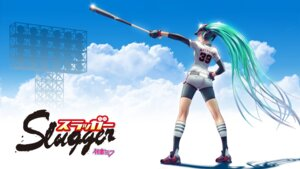 Rating: Safe Score: 50 Tags: baseball bike_shorts hatsune_miku vocaloid wallpaper wokada User: VorpalNeko