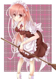 Rating: Safe Score: 13 Tags: cleavage kujou_ichiso maid User: Radioactive