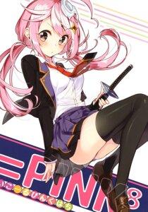 Rating: Safe Score: 26 Tags: pantsu sakuragi_ren seifuku sword thighhighs User: kiyoe