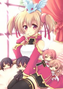 Rating: Safe Score: 38 Tags: asuna_(sword_art_online) chibi kirito lisbeth miyata pina silica sword_art_online thighhighs yui_(sword_art_online) User: 椎名深夏
